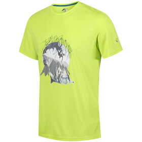 Regatta Fingal IV Shortsleeve Shirt Men yellow